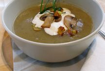 Yummy Soups / What's better than a hot bowl of soup or a nice chilly one on a hot summer day?