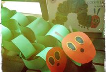Preschool.....the very hungry caterpillar