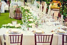 Wesele w ogrodzie. Wedding i garden.