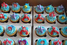 Ariel cake/cupcakes