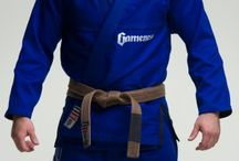 Gameness Blue Pearl Gi / The Gameness Pearl Gi defines the new look of Gameness:  simple and clean.  The quality construction can be seen throughout the Gi with reinforcements in all the right places, making this a gi that will stand up to intense training for years.  All Gis are not created equal, and you can feel the premium cotton used as soon as you put on the Pearl Gi.  Comfortable and long-lasting, this gi has the right combination of style, functionality, and durability.