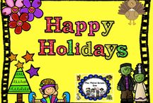 Happy Holidays! Fun Holiday Lesson Ideas / Happy Holidays! Fun Holiday Lesson Ideas board is designed to share lesson ideas for our favourite holidays. These lessons might include math, language arts, science, art, or P.E. as long as they are holiday related. I am no longer accepting new collaborators to this board.
