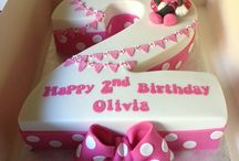Olivia's second birthday