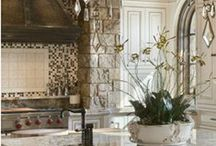 French Provencal kitchens