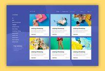 SPA系WEBデザイン / WEBサイトのSPA実装で参考にできるサイトデザイン
