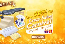End of Financial Year / Up to 90% off, Crazy Sales Carnival!