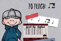 Aileen Miracle's Music Education Products / Pins of my products for music and classroom teachers / by Aileen Miracle