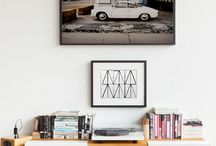 Enhance Your Walls / Learn to create space by decorating your walls with art.