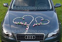 deco voiture mariage