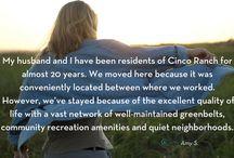 Resident Testimonials   Founding Families   Katy, Texas   New Homes