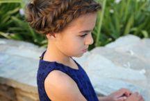 coiffure petite fille mariage