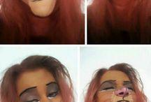 geeky make up