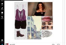 mi estilo / este es mi estilo de ropa