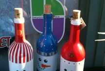 botellas decorada