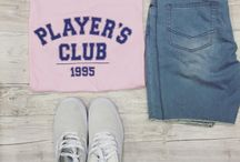What's in Store at Plato's Closet Pineville / A board full of the amazing clothes, shoes, and accessories that can be found at Plato's Closet Pineville.   #PinevilleNC #CLT #Charlotte #shopCLT #pcCLT #platosclosetpineville