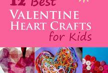Best Valentine Heart Crafts For Kids