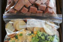crock pot/ freezer meals / by Tammy Haubert