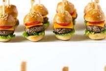 Mini cheeseburger