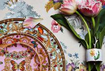 Porcelains Flora and Fauna / посуда Флора и Фауна