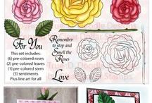 Stamps/Digital Downloads/Fonts / Stamps and Digital downloads I love