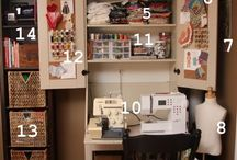 Small Sewing Space Ideas