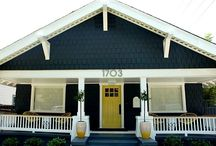 exterior house color ideas / by Sam Fisher