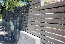 Walled Garden- slatted timber