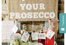 Wedding- prosecco station