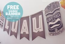 Luau Party Ideas / by Diana Trotter