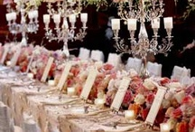 wedding tablescapes and centerpieces