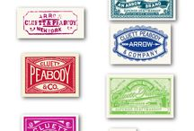 stamps, tags and labels / Vintage Stamps, Tags and Labels