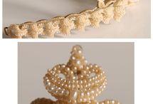 Seed pearl jewelery