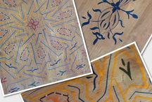 Fabrics, floors and ceilings