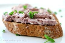 pomazanky, salaty