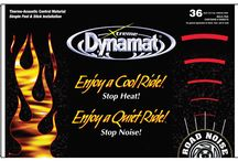 DYNAMAT Sound/Heat barrier / by YEARONE Muscle Cars