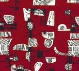 Wall, fabrics and patterns