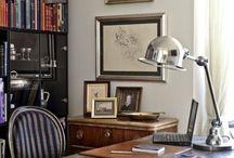 Masculine Office Desk