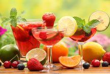 Gyümölcs, italok