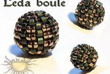 Beaded beads