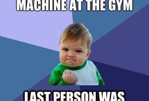 gym meme / by Shobhit Gautam