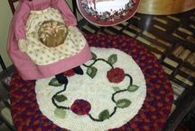 Combining Hooking and Rug Braiding