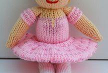 Toy Knitting Pattern - Ballerina / http://www.edithgracedesigns.com