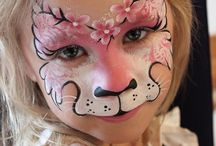 Facepainting děti