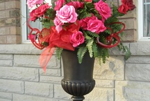 Valentine's Day Urns & Arrangements