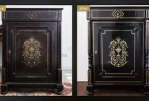 Restoration - amazing before/after pictures / see some of the beautiful restorations results of our fine european antique pieces.