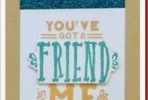 CTMH MAY SOTM 2014 / You've Got A Friend. Stamp of the Month,
