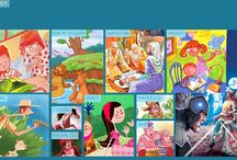 illustration / board featuring over 30 different styles of illustration - visit www.sonaandjacob.com for more / by Sona Saxena Jacob