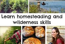 Homesteading and Wilderness Skills Weekend Retreat / Our homesteading and wilderness camp teaches many different skills in one weekend. Located in the beautiful Pacific Northwest on our gorgeous homestead in the North Cascades, this will be an unforgettable experience! http://www.marblemounthomestead.com/homesteading_and_wilderness_skills_weekend_retreat.html