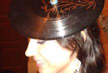 Cappelli in vinile / Cappelli realizzati in vinile riciclato al 100%