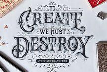 Font & Ispirazioni